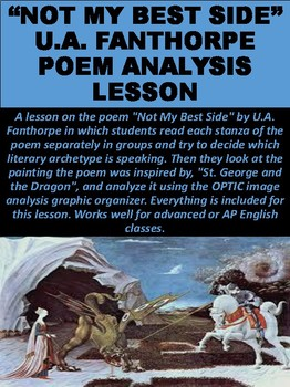 """""""Not My Best Side"""" by U.A. Fanthorpe Poem Analysis Lesson"""