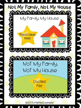 Not My Family, Not My House:  The Talking Game