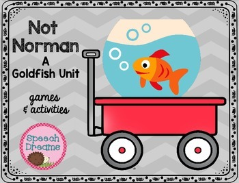 Not Norman: A book companion {speech therapy or classroom use}