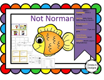Not Norman Activity Packet