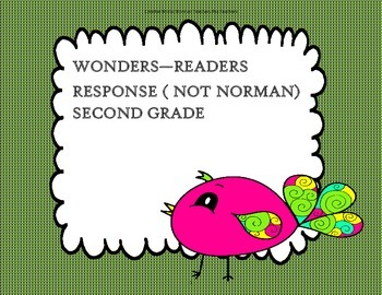 Not Norman  - 2nd Grade - Trifolds + Activities
