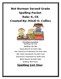 Not Norman Spelling Packet (CK, K)