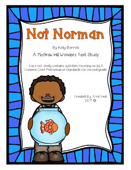 Not Norman by Kelly Bennett Book Study