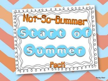 Not So Bummer Summer Pack