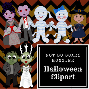 Not So Scary Halloween Monsters
