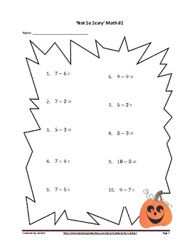 Not So Scary Math