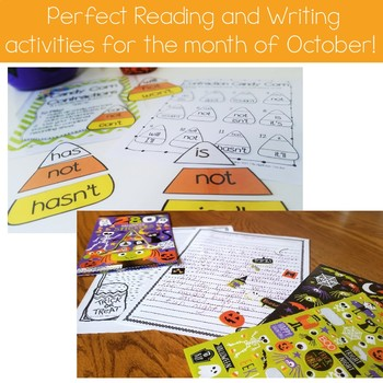 Halloween Activities: Reading and Writing
