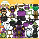 Not-So-Spooky Halloween Clip Art