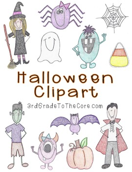 {Not So Spooky} Halloween Clipart
