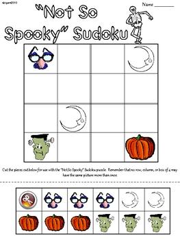 Halloween Primary Sudoku