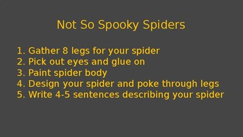 Not So Spooky Spiders