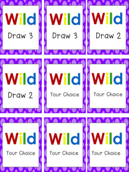 First Grade Tricky Sight Words Card Game or Literacy Center