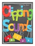 Not So Wimpy File Folder Game: Clipping Sounds (Short Vowe