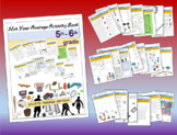 """Not Your Average Activity Book """"SPORTS EDITION"""" (20 pages) - 5TH & 6TH GRADE"""