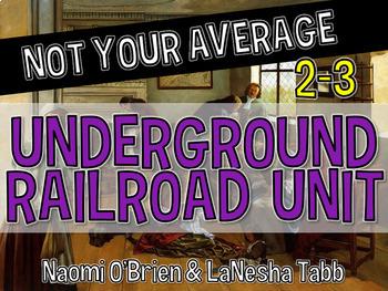 Not Your Average Underground Railroad Unit