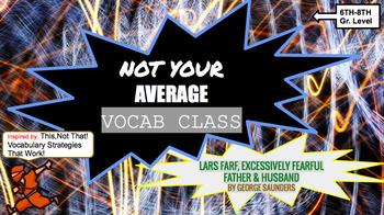 Not Your Average Vocab Class!