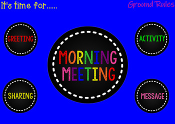 Not Your Grandma's Morning Meeting (for the Responsive Classroom)