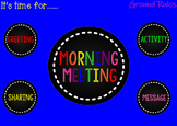 Not Your Grandma's  Morning Meeting (SB file for the Responsive Classroom)