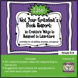 FREE Not Your Grandma's Book Report: 30 Creative Ways to R