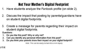 Not Your Mother's Digital Footprint