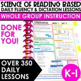 Science of Reading Based Sight Word Instruction | Kindergarten & First Grade