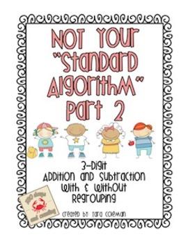 Not Your Standard Algorithm (part 2)