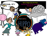 Not a Hippo Clipart Pack