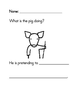Not a Stick prediction worksheets