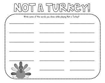 Not a Turkey! A CVC Game