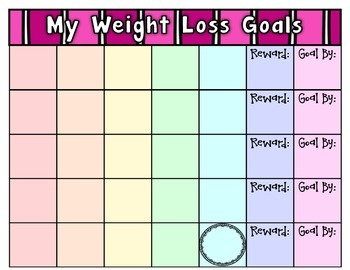 Not for Students ~ (Free) Editable Goal Tracking