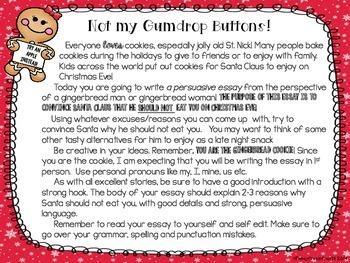 Not my Gumdrop Buttons {A persuasive writing}