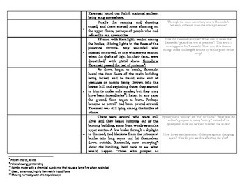 Not to Go with the Others - An abbreviated close reading group activity