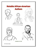 Notable African American Authors Lesson Plan - Full Month