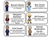 Notable African American History Flash Cards. Teach Africa