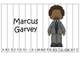 Notable African Americans Marcus Garvey themed Alphabet Sequence Puzzle game.