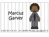 Notable African Americans Marcus Garvey themed Alphabet Se