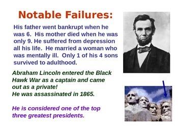 Notable Failures