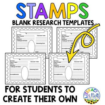 Notable Mathematicians Research Project Templates for Grades 3-5