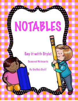 Notables... Cards that can be used throughout the year!