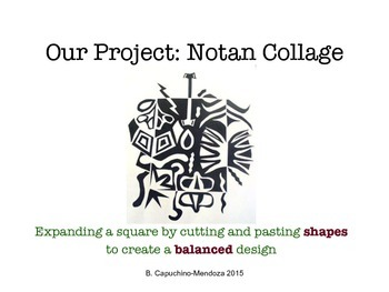 Notan: Collage Art Project