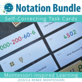 Montessori Math Place Value Notation Cards Bundle with Expanded Form and More