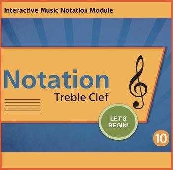 Notation Treble Clef Unit 10 Music Interactive Module