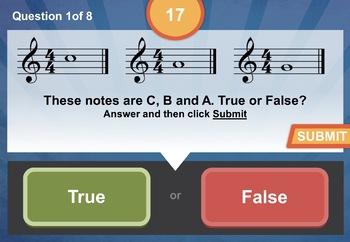 Notation Treble Clef Unit 3 Music Interactive Module