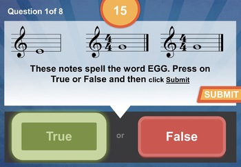Notation Treble Clef Unit 6 Music Interactive Module