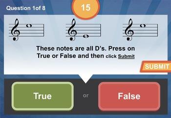 Notation Treble Clef Unit 8 Music Interactive Module
