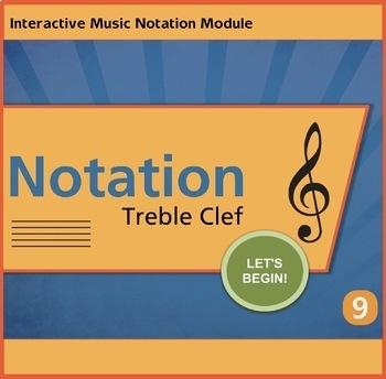 Notation Treble Clef Unit 9 Music Interactive Module