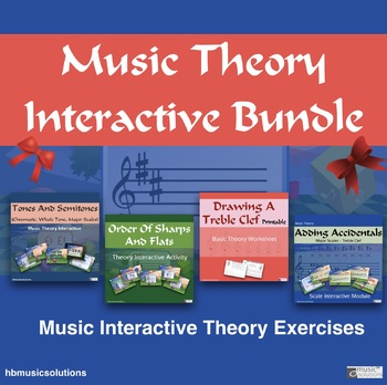 Music Theory Growing Music Interactive Module Bundle