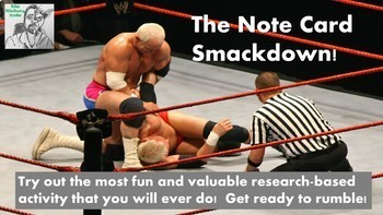 Note Card Smackdown!