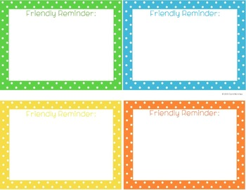 Note Card Variety Pack {Polka Dotted}