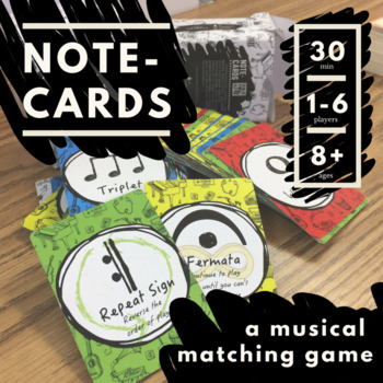 Note-Cards: A Musical Matching Game